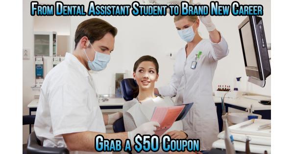 dental assistant student